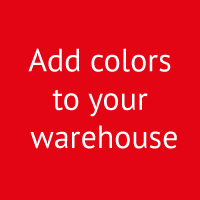 Meta magazijninrichting Nederland Add colors to your warehouse